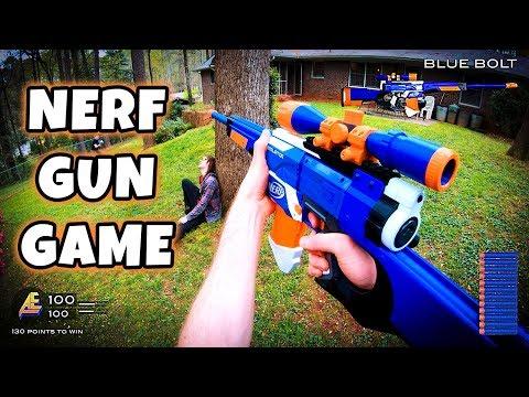 NERF GUN GAME | MODDED MAYHEM 2.0 (First Person Shooter in 4K!) - Лучшие видео поздравления в ютубе (в высоком качестве)!