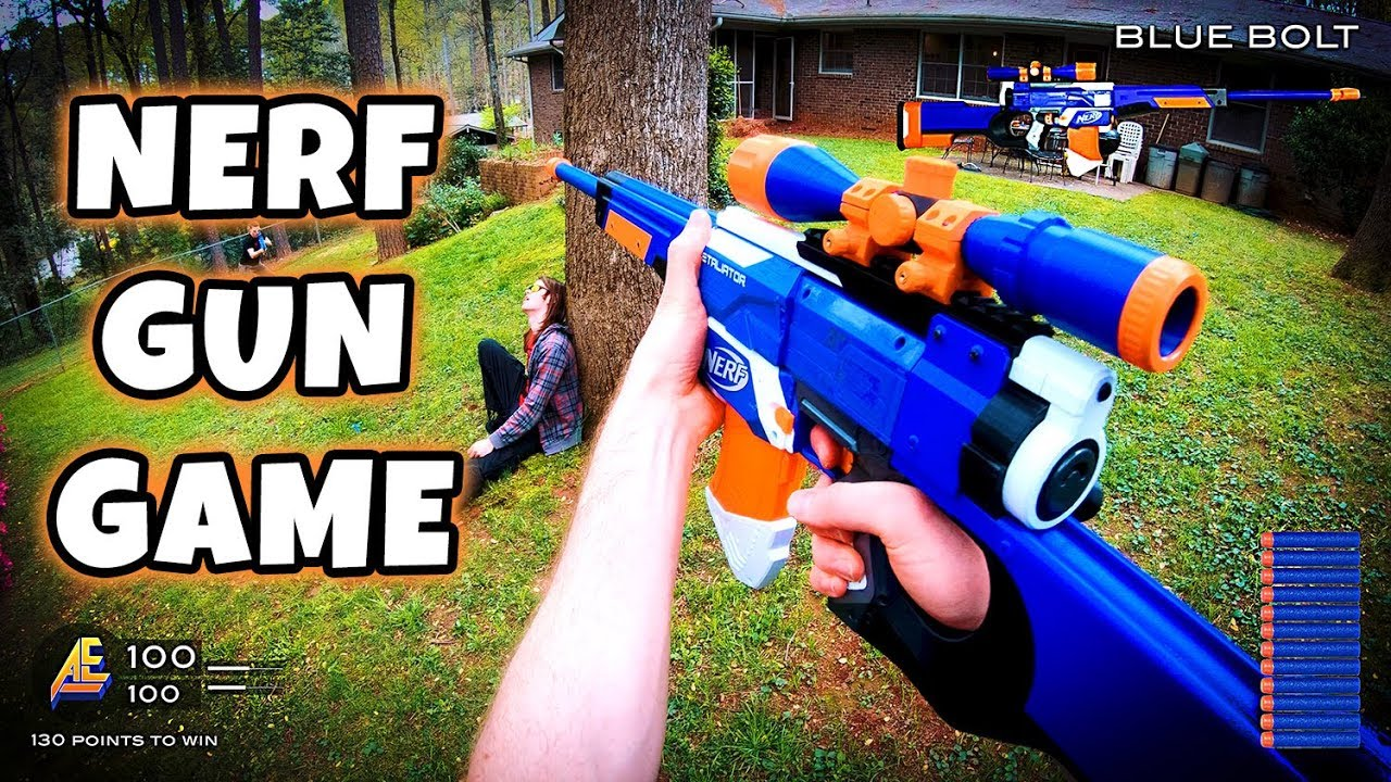 NERF GUN GAME | MODDED MAYHEM 2.0 (First Person Shooter in 4K!) #1