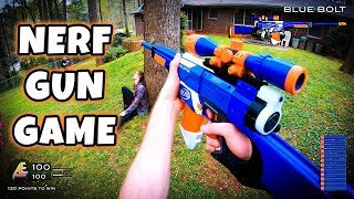 NERF GUN GAME | MODDED MAYHEM 2.0 (First Person Shooter in 4K!)