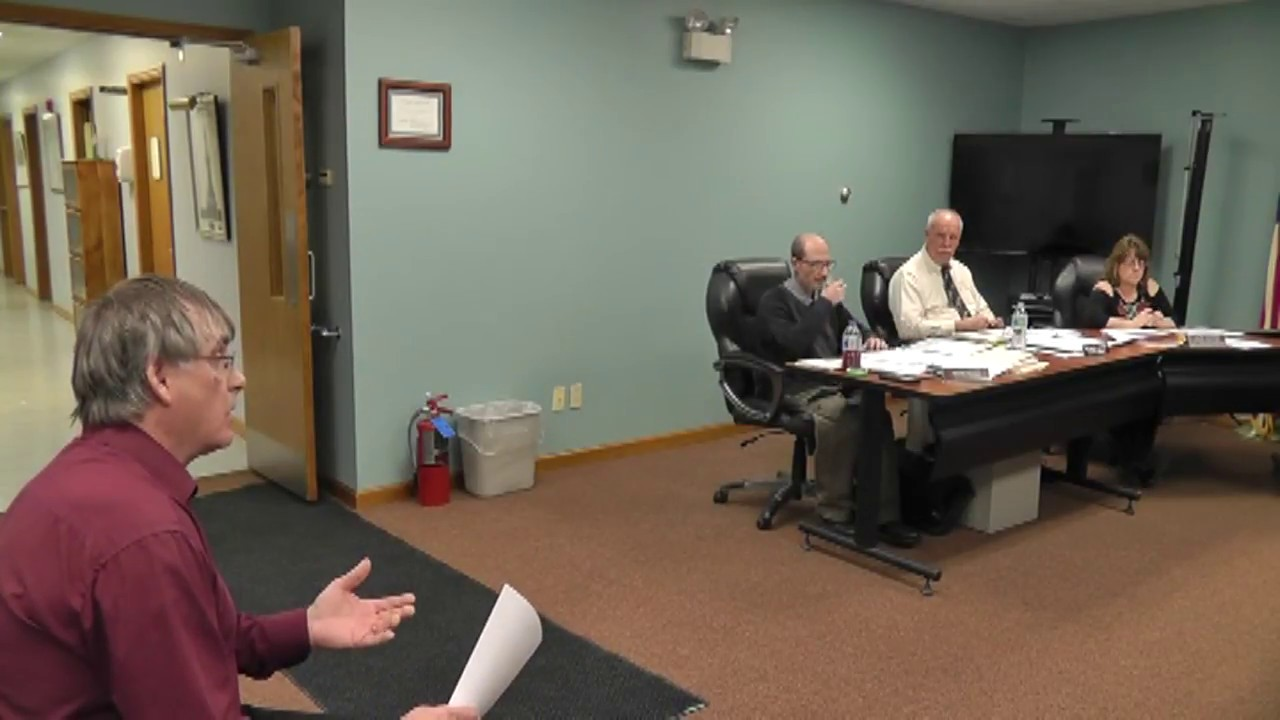 Champlain Town Board Meeting  3-13-18