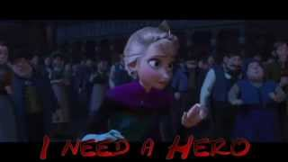 jelsa jack frost elsa crossover hero