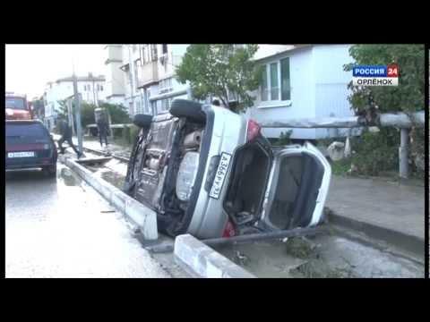 Наводнение в Новомихайловском (без комментариев)