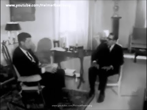 March 26, 1962 - President John F. Kennedy Meets Carlos Lacerda of the State of Guanabara, Brazil