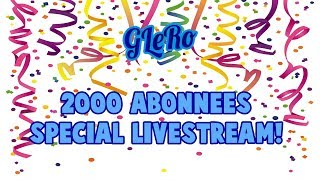 2000 ABONNEES SPECIAL LIVESTREAM! (Fortnite Battle Royale Met Kijkers)(Nederlands live)