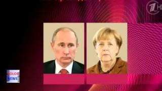 ЖЕСТЬ 2015! Разговор Путина и Меркель СРОЧНО! ШОК