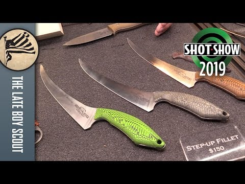 Maybe The Best Fillet Knife Ever: White River - SHOT Show 2019