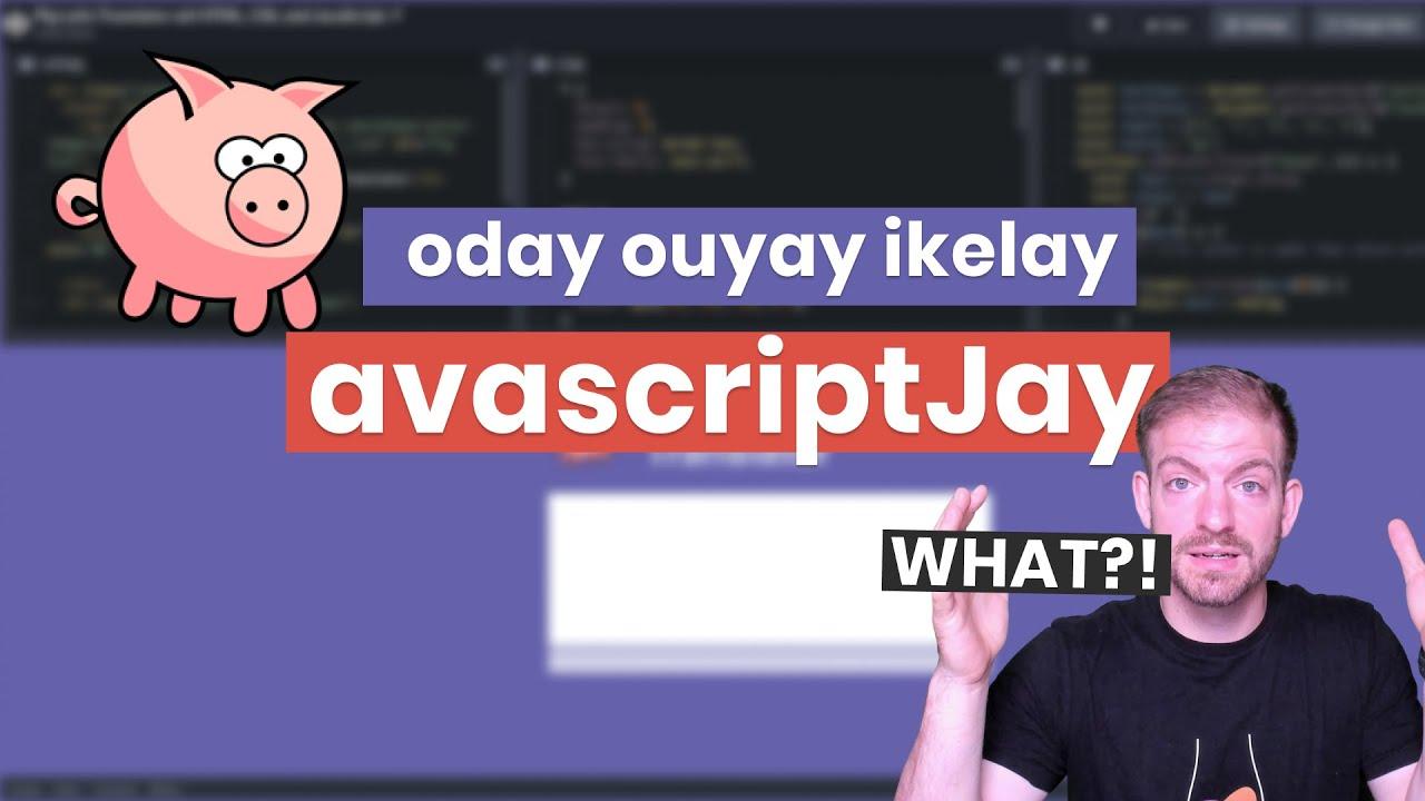 How to Build a Pig Latin Translator with Vanilla JavaScript