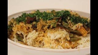 Jain Dum Biryani | Jain Recipes | Sanjeev Kapoor Khazana