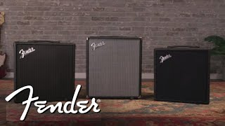3 Bass Amps. 3 Price Points. Which One is Right For You? | Fender