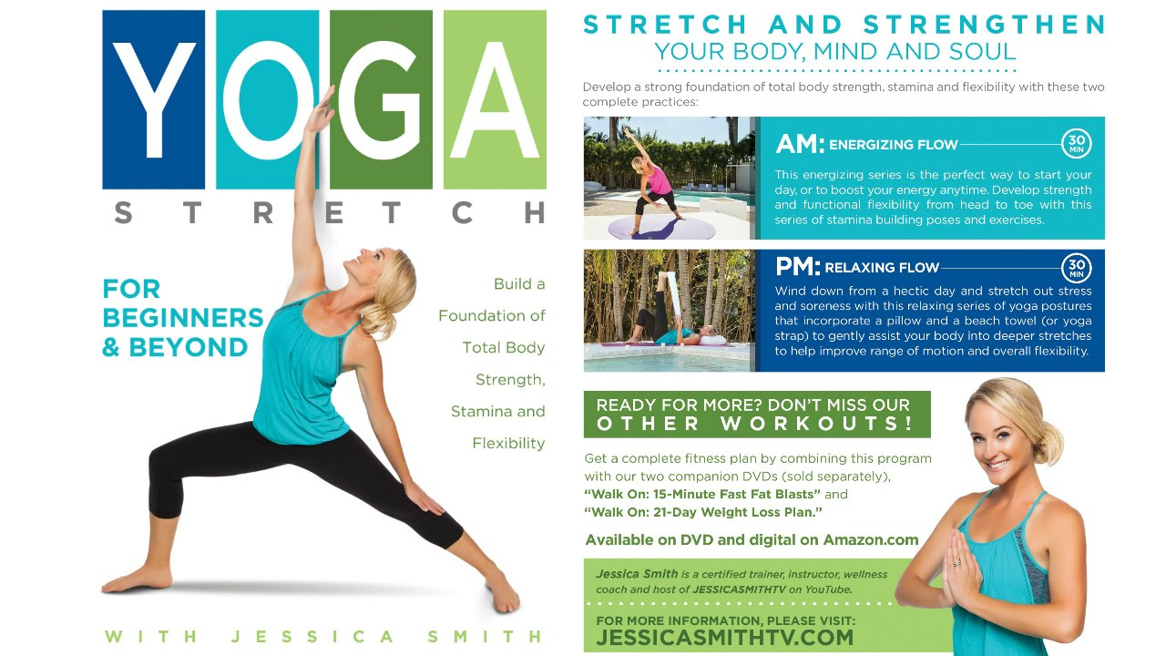 Introducing Our Brand New Yoga Stretch For Beginners And Beyond Dvd Youtube