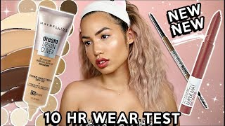 NEW RELEASES | MAYBELLINE DREAM URBAN COVER SPF50 | WEAR TEST REVIEW