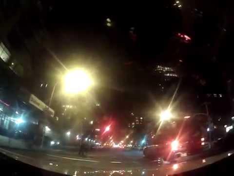Driving Night in Manhattan