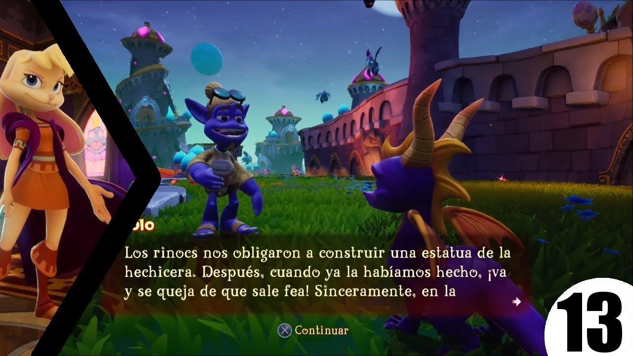 Torres Hechizadas 100 Completado Spyro Year Of The Dragon 13