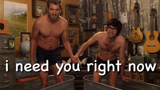 rhett and link being bffs