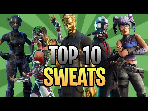 Top 10 Sweatiest Skin Combos In Chapter 2 Season 2! (Fortnite)