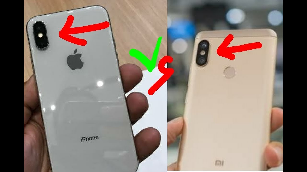 buy online 56219 de09e IPhone X Vs Redmi Note 5 pro full Comparison, both phones Specification, By  Tech Addicted