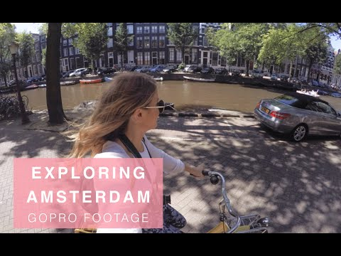 Exploring Amsterdam Footage | GoPro HERO 4 SILVER By Mollie Bylett
