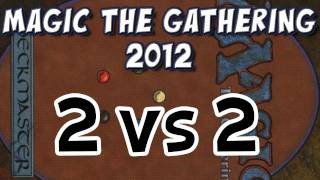 Magic The Gathering 2012: Two-headed Monster (2vs2) Battle