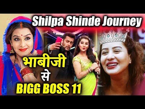 Shilpa Shinde's AMAZING Journey From Bhabiji Ghar Par Hain To Bigg Boss 11