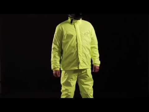 76bb6875ddf Impermeable para lluvia Alpinestars Hurricane - YouTube