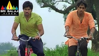 Baava Movie Climax Cycle Race Scene | Siddharth, Pranitha | Sri Balaji Video