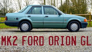 1989 Mk2 Ford Orion GL Goes for a Drive