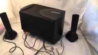 Altec Lansing ATP3 computer speaker subwoofer