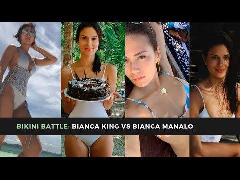 Bikini battle: Bianca Manalo vs Bianca King - YouTube