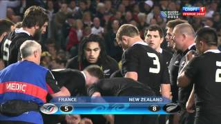 Rugby World Cup 2011. Final. France - New Zeland. Голевые моменты[HD 720p]