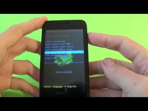 Alcatel One Touch Pixi 3 hard reset