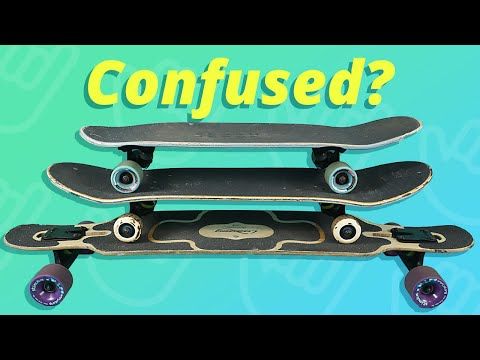 Longboard vs Skateboard vs Cruiser (Comparison)