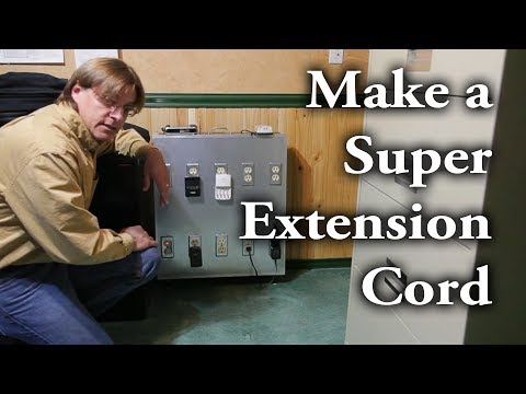 """How To Make A """"super"""" Extension Cord (aka Power Distribution Box)"""