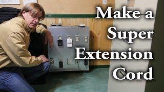 كيفية جعل ''سوبر'' تمديد الحبل (ويعرف أيضا باسم صندوق توزيع الطاقة)