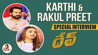 Karthi And Rakul Preet Exclusive Interview On Dev Movie | Celebrity Interviews | Vanitha TV