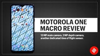 Motorola One Macro review: Let's take a look at the macro camera.