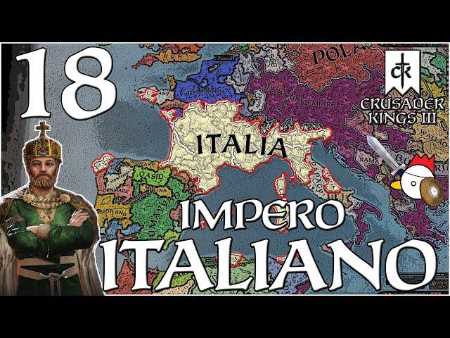 I POLACCHI ARRETRANO | Crusader Kings 3 ITA - IMPERO D'ITALIA #18