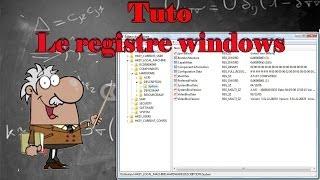 Tout savoir sur le registre windows