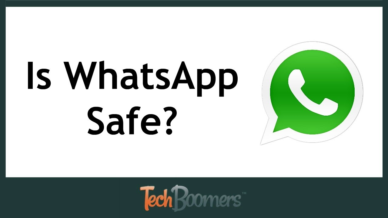 is whatsapp safe and secure youtube