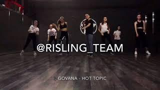 Gambar cover GOVANA - HOT TOPIC | RISLING TEAM | DANCEHALL STEPS BY BLACK EAGLES