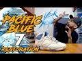 Jordan 7 Pacific Blue Restoration + How to Match Midsole Paint