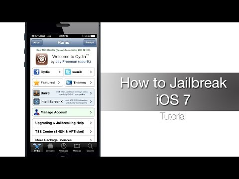How to Jailbreak iPhone 5s, 5c, 5, 4S, 4 on iOS 7 - iOS 7.0.4 with evasi0n7