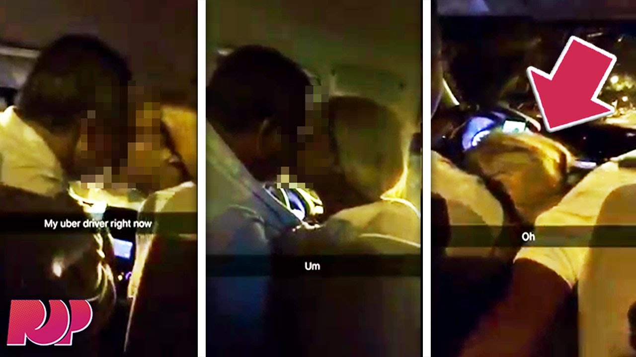 How To Cancel Uber >> Worst Uber Driver Ever? Passenger Films His Uber Driver Getting Road Head - YouTube