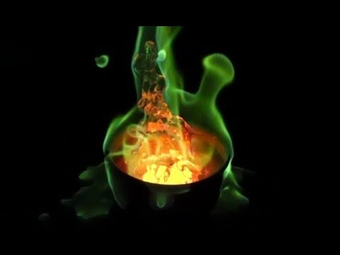 RHNB-Methanol and Boric Acid (Green Fire)