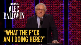 Robert De Niro ROAST - COMEDY CENTRAL ROAST OF ALEC BALDWIN