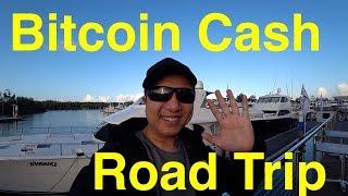 Bitcoin Cash Road Trip in Queensland Australia