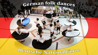 FOLKIES German folk dances - The most beautiful dance (Style is Chiemgau)