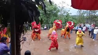 Trung Thu 2017 | Đội Lân Nhảy Theo Nhạc Gangnam Style  😍😍😍
