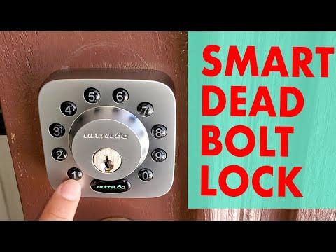 ultraloq-u-bolt-smart-deadbolt-lock---uses-bluetooth-and-wifi-as-well-as-being-smart-home