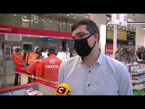 Вікна-новини: Робота служби доставки в умовах карантину. Доставка продуктів з супермаркетів | Вікна-Новини