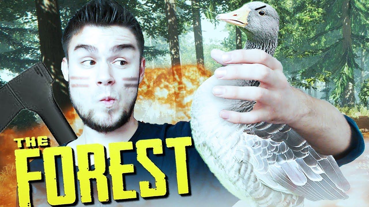 WALKA Z POTĘŻNYM BOSSEM DE GĘSIĄ! | The Forest [#24] (With: Dobrodziej)